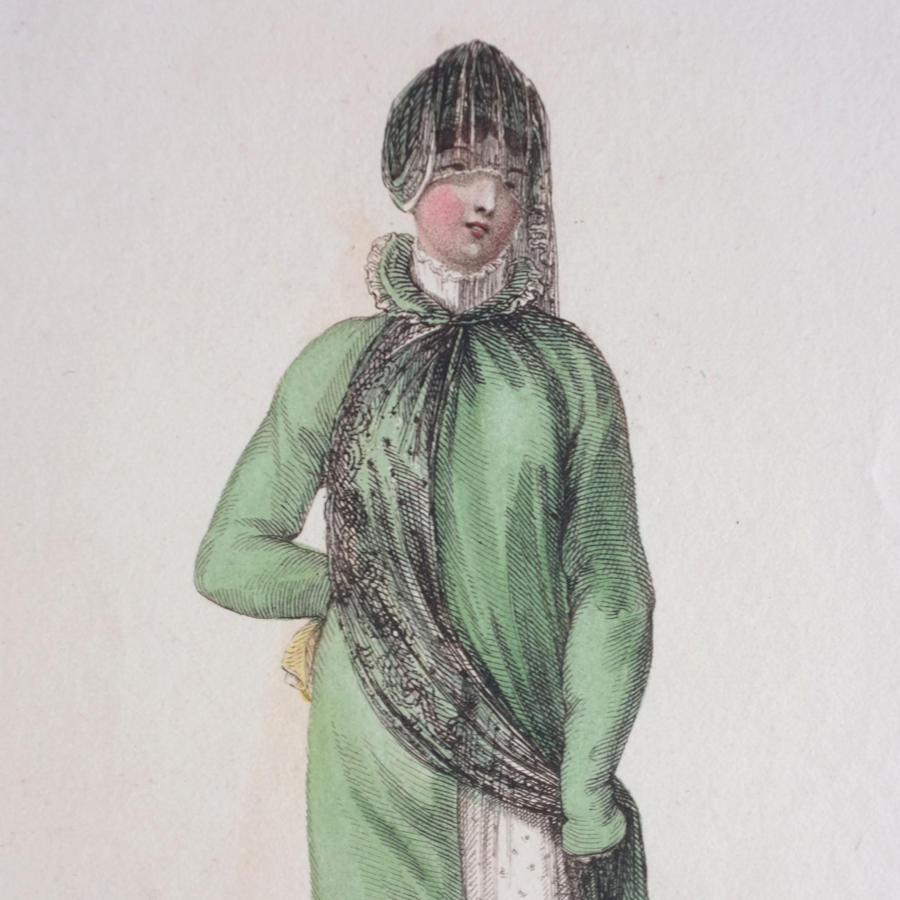 Ackermann's Hand Coloured Engraving - 1811