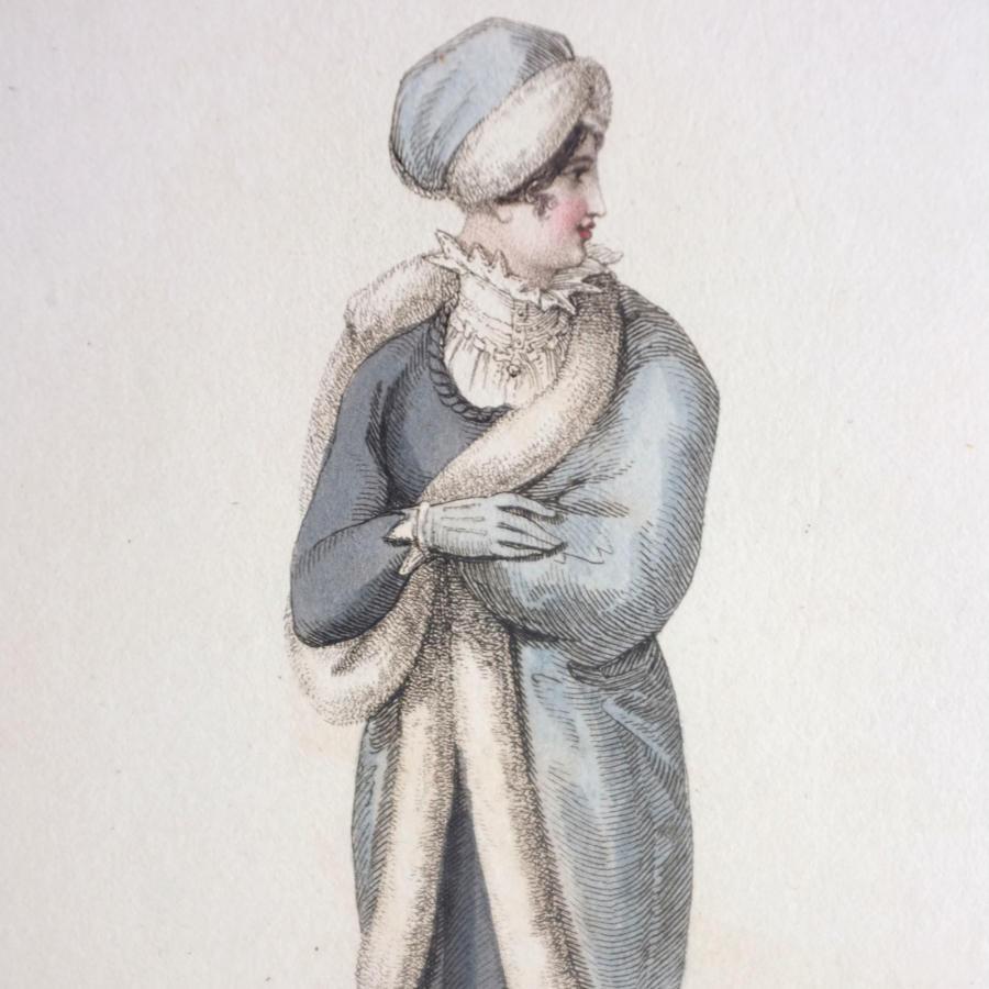 Ackermann's Hand Coloured Engraving - 1810