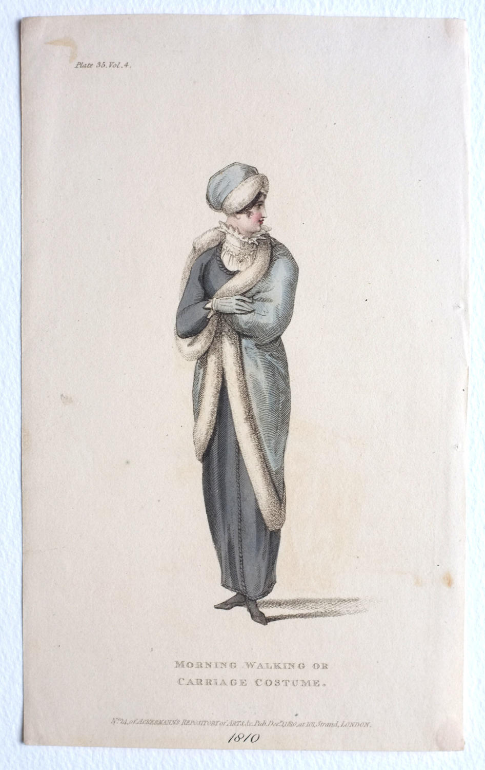 Ackermann's Hand Coloured Engraving - 1810
