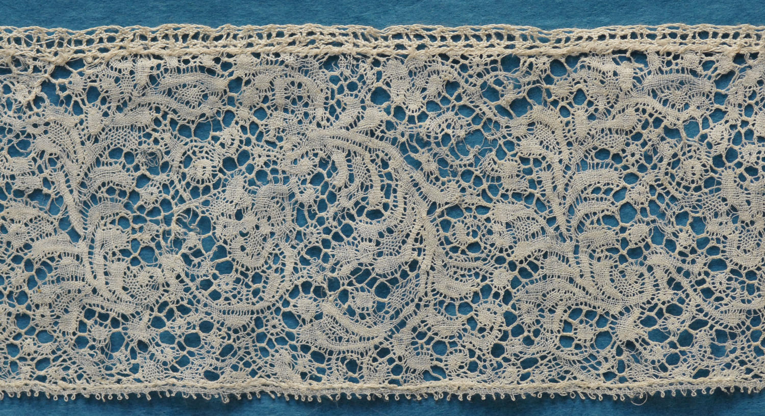 18th Century Binche Bobbin Lace Border