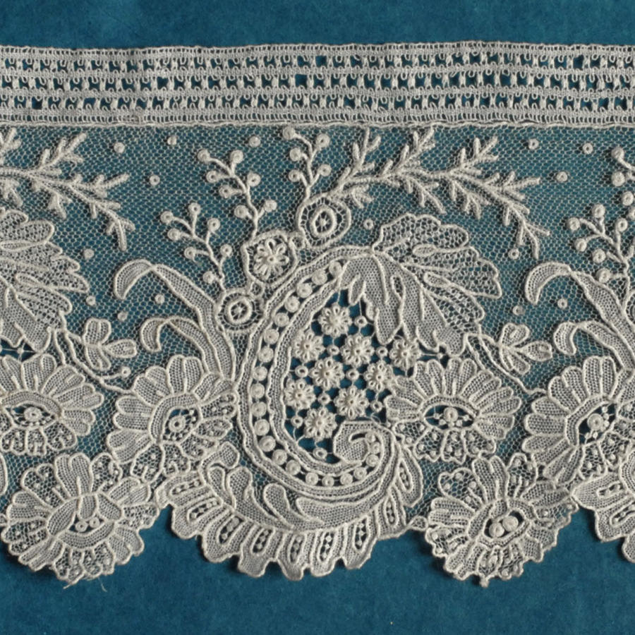 Brussels Point de Gaze Lace Border