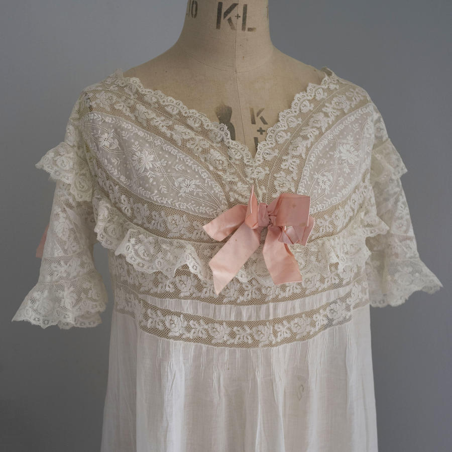 Belle Epoque Nightdress with Monogram and Coronet
