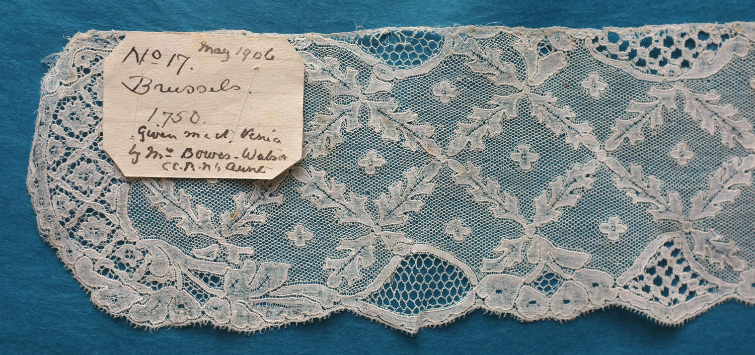 18th Century Mechlin Bobbin Lace, circa 1750