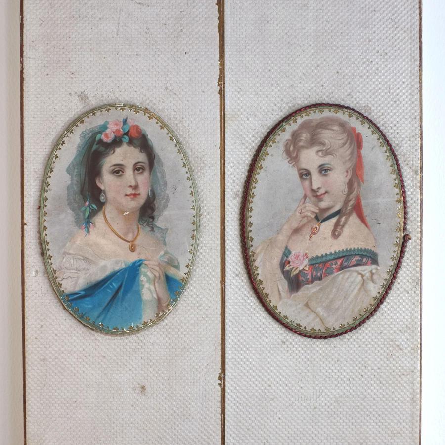 Antique L.Hanze Dessaer & C. Ostend Lace Box